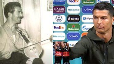 Ο Ρονάλντο, οι κοντυλιές του Καλομοίρη και στη μέση η... Coca-Cola